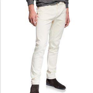 Mens Designer Michael Kors White / Off-White Jeans